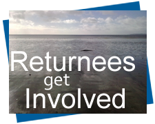 Returnees Get Involved